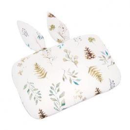 Bambusowa poduszka z uszami dla niemowląt Samiboo (25x35) -  leśny