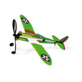 Samolot do złożenia Scratch - zielony