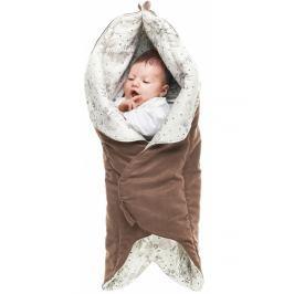 Otulacz-śpiworek Leaf Wallaboo - Chocolate