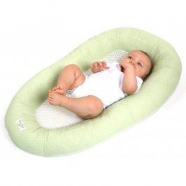 Oddychający materac do spania dla niemowląt PurFlo zielony