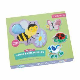 Puzzle sensoryczne Mudpuppy - ogród