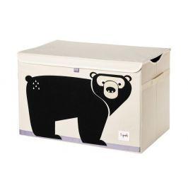 Duże pudło zamykane - niedźwiedź