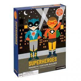 Magnetyczne ubieranki Petit Collage - superbohaterowie