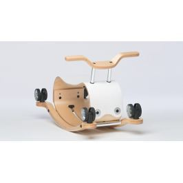 Flip - bujaczek i jeździk 2w1 - biały