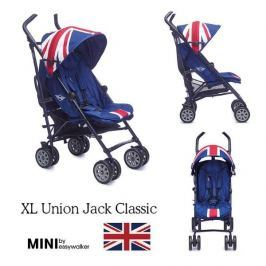 Wózek spacerowy MINI XL by Easywalker  - Union Jack Classic