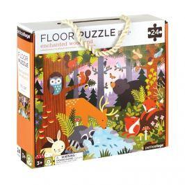 Puzzle podłogowe Petit Collage - las  (3+)