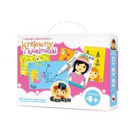 Zabawy kreatywne Królewny i księżniczki dla dzieci 4+