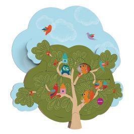 Zabawka do zamocowania na ścianie VertiPlay Oribel - domek wiewiórki