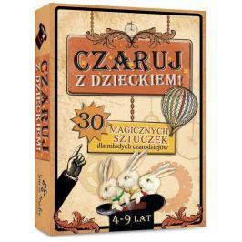 Czaruj z dzieckiem - karty małego magika