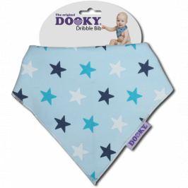 Apaszka-śliniak Dooky Dribble Bib - Blue Star