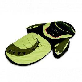 Łóżeczko turystyczne ze śpiworem Little Life - krokodyl