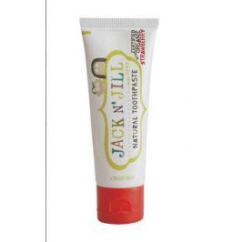 Naturalna pasta do zębów dla dzieci - truskawka