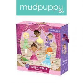 Puzzle Jumbo Mudpuppy - baletnice (25 dużych elem.)