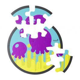 Piankowe puzzle do kąpieli - ośmiornica