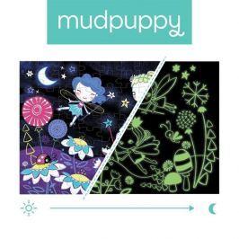 Puzzle świecące w ciemności Mudpuppy - wróżki (100 elem.)