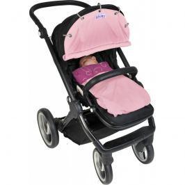 Osłonka Dooky do wózka i fotelika - Baby Pink