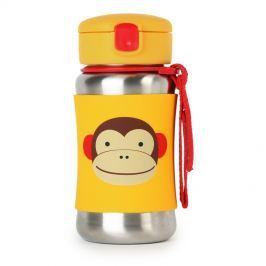 Bidon stalowy dla dzieci Skip Hop Zoo - małpka