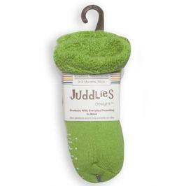 Skarpetki dla niemowląt - zielone + białe (0-3 m)