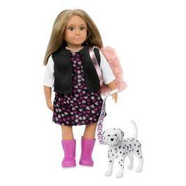 Lalka Lori z pieskiem - Gia & Gunner