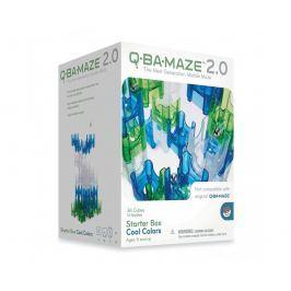 Klocki Q-Ba-Maze - labirynt (zielony/niebieski/biały)