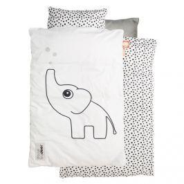 Pościel niemowlęca Dots (100x70 + 45x40) - biała