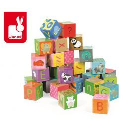 Klocki - puzzle 6 w 1 (32 elem.) - alfabet