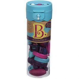 Zestaw do tworzenia bizuterii - B.eauty Pops (50 elem.): ecru, niebieskie, różowe