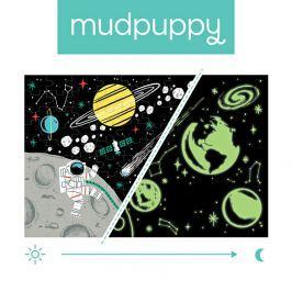 Puzzle świecące w ciemności Mudpuppy - kosmos (100 elem.)