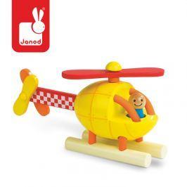 Drewniany helikopter magnetyczny Janod