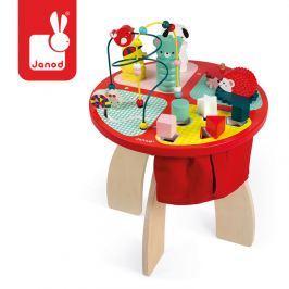 Drewniany stolik edukacyjny Janod - Baby forest