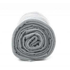 Antybakteryjny ręcznik szybkoschnący XL - jasnoszary Pozostałe