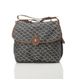 Torba do wózka Babymel Satchel - Wave Elephant Grey Akcesoria do wózków