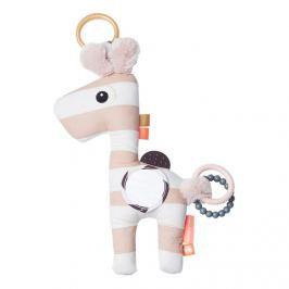 Aktywna zawieszka żyrafa  Done By Deer  - różowa Zabawki do wózka łóżeczka i fotelika