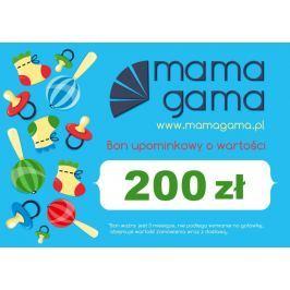 Karta podarunkowa o wartości 200 zł niebieska