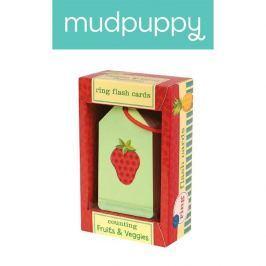 Karty do nauki Mudpuppy - owoce i warzywa Pozostałe zabawki