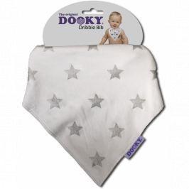 Apaszka-śliniak Dooky Dribble Bib - Silver Stars Śliniaki i fartuszki