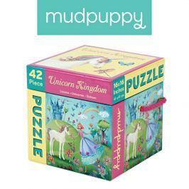 Puzzle Mudpuppy - jednorożce (42 elem.) Puzzle