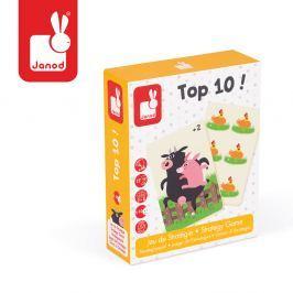 Gra karciana strategiczna Janod - Top 10 (5-10 l) Gry dziecięce
