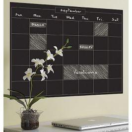 Naklejki naścienne Wallies - tablica kredowa: kalendarz (miesiąc)