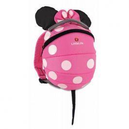 Plecak Little Life (1-3): Disney -  różowa Myszka Minnie Torby i torebki dziecięce