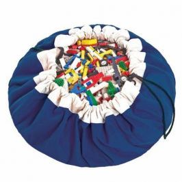 Worek na zabawki Play&Go - niebieski Skrzynie i pojemniki na zabawki