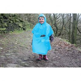 Pelerynka przeciwdeszczowa-poncho Pack It - niebieska
