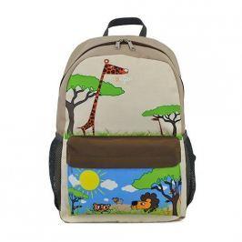 Tornister dla dzieci Let's go! - Large (6-9lat)- Safari Torby i torebki dziecięce
