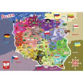 Puzzle mapa Polski Puzzle