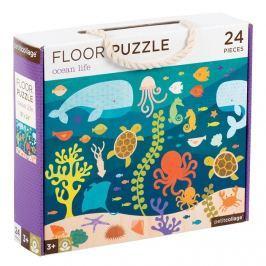 Puzzle podłogowe Petit Collage - ocean  (3+)