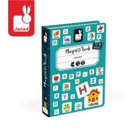 Układanka magnetyczna Magnetibook Janod - alfabet Dla dzieci