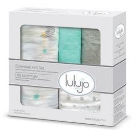 Zestaw prezentowy Lulujo (otulacz, pieluszki, myjka) kraina snów Koce i narzuty dziecięce