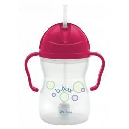 Innowacyjny kubek-niekapek b.box - różowy Naczynia i sztućce dla dzieci