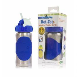 Termobutelka Pacific Baby ze słomką (265ml) - niebieska Akcesoria do butelek