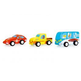 Samochody z napędęm Scratch (3 szt.)